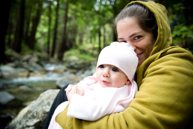 camping with an infant in big sur california