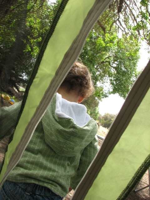 camping with toddler
