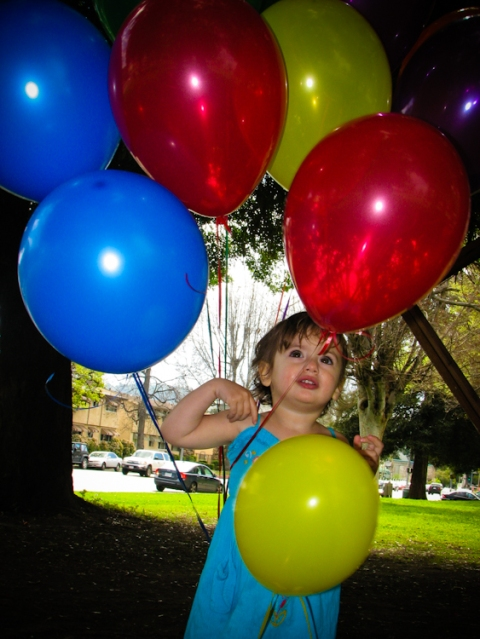 toddler birthday balloons