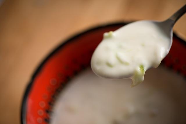 cold yogurt and cucumber soup turkish cacik