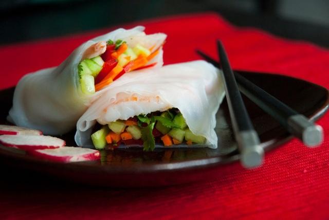 Fresh Shrimp Spring Roll
