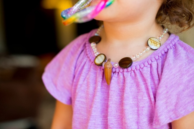 Creating an Acorn Necklace