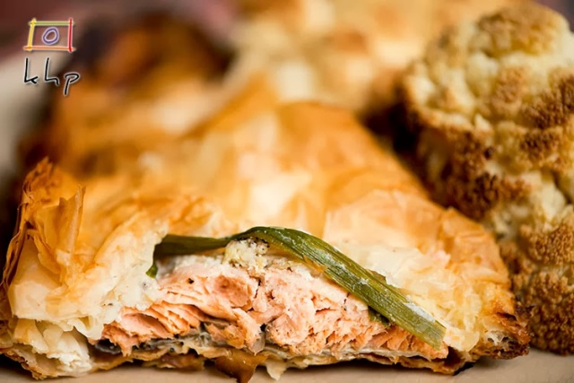Ginger Salmon En Croute Recipe