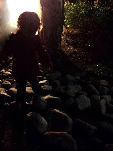 Nighttime Outdoor Play with Kids