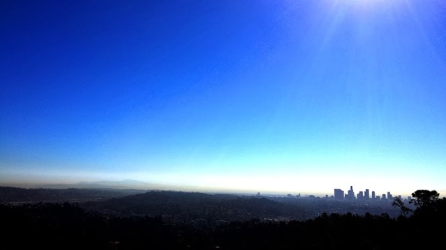 Mt. Hollywood Trail view of Los Angeles