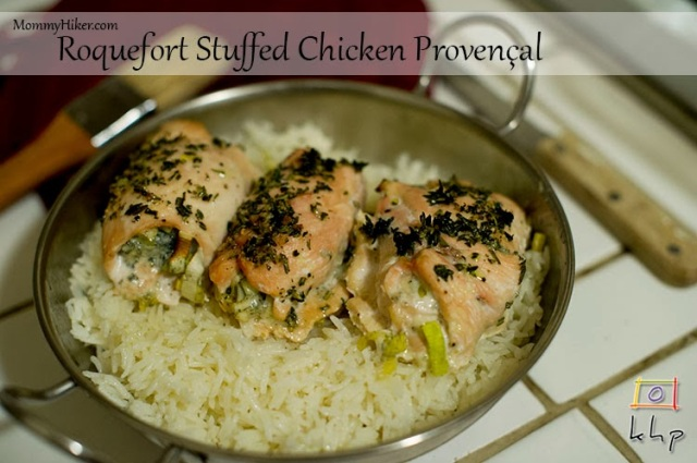 Roquefort Stuffed Chicken Provençal recipe