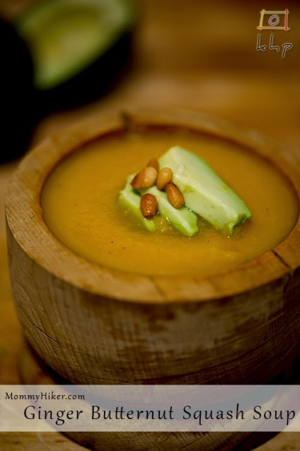 Ginger Butternut Squash Soup Recipe