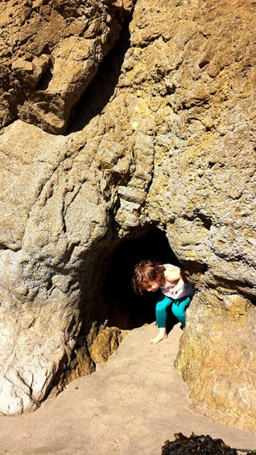 exploring leo carrillo state park tide pools with a todder