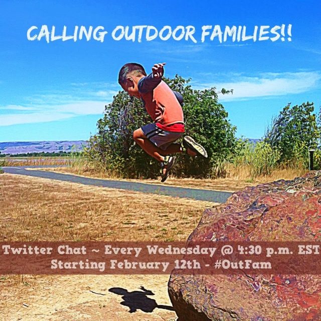 #OutdoorFamilies TweetChat #OutFam