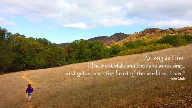 Inspirational Nature Quote - John Muir