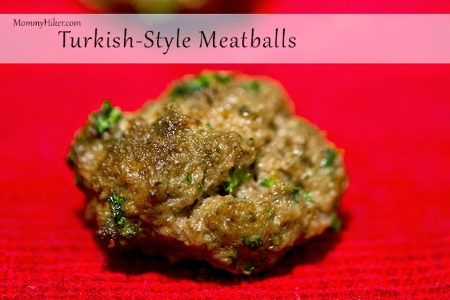 Turkish Meatballs (Köfte)