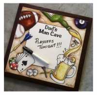 Clay Palette Man Cave Sign Giveaway