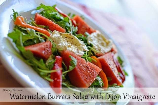 Watermelon Burrata Salad Recipe