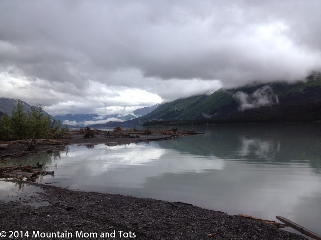 Family Camping at Primrose Landing Campground, Seward, Alaska