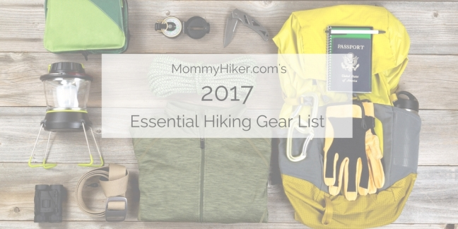 hiking gear lists